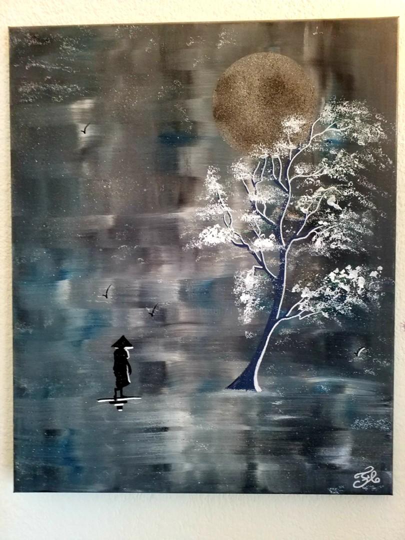 Florence Castelli  flofloyd - L arbre solitaire
