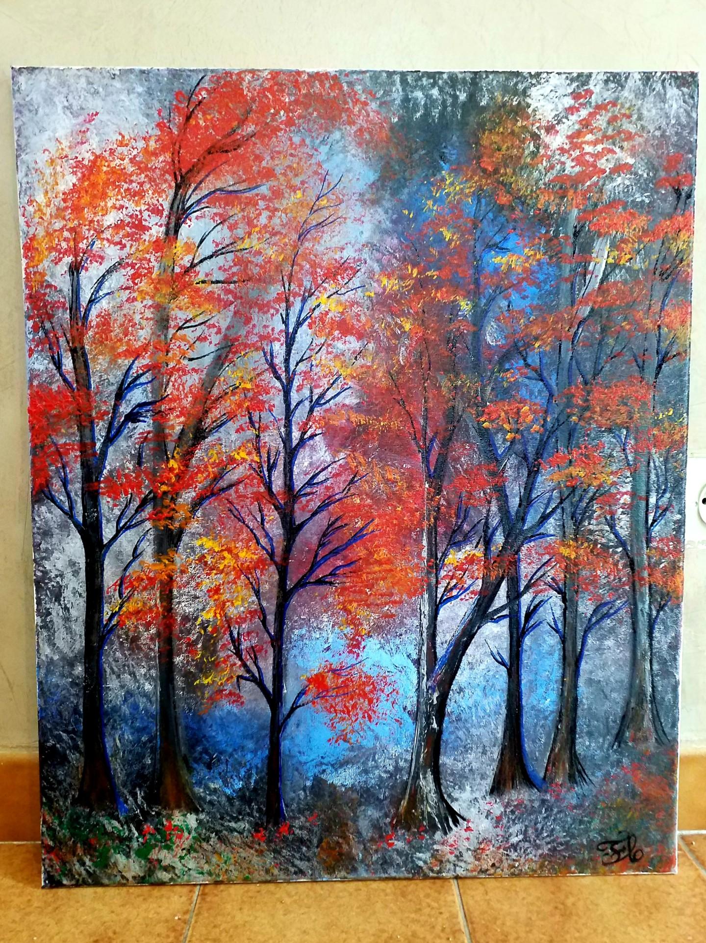 Florence Castelli  flofloyd - La forêt que j aime