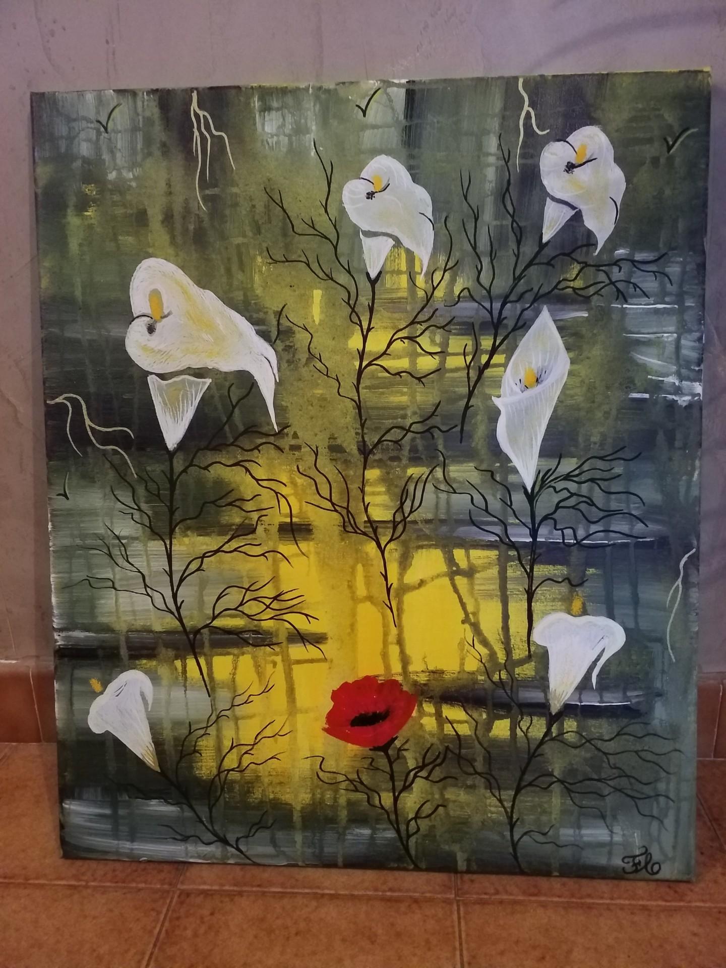 Florence Castelli  flofloyd - L imaginaire dans les fleurs