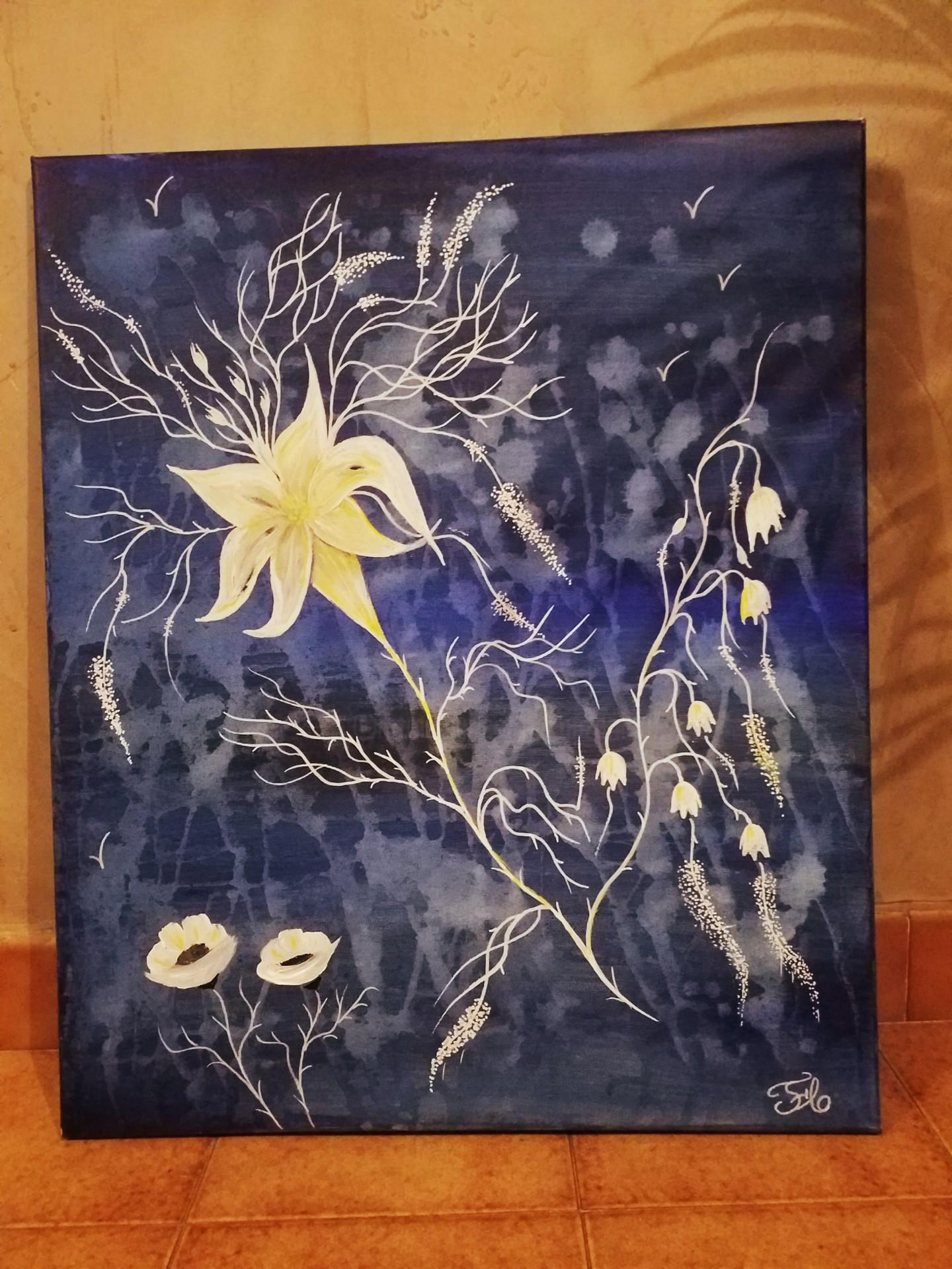 Florence Castelli  flofloyd - Une envolée de fleurs