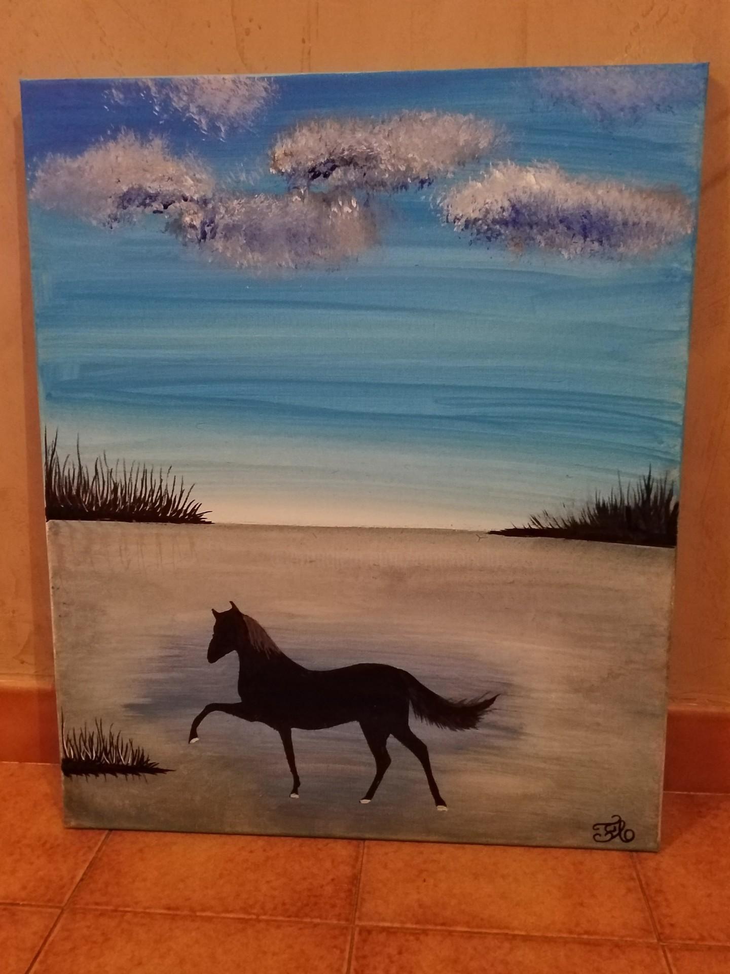 Florence Castelli  flofloyd - Le cheval