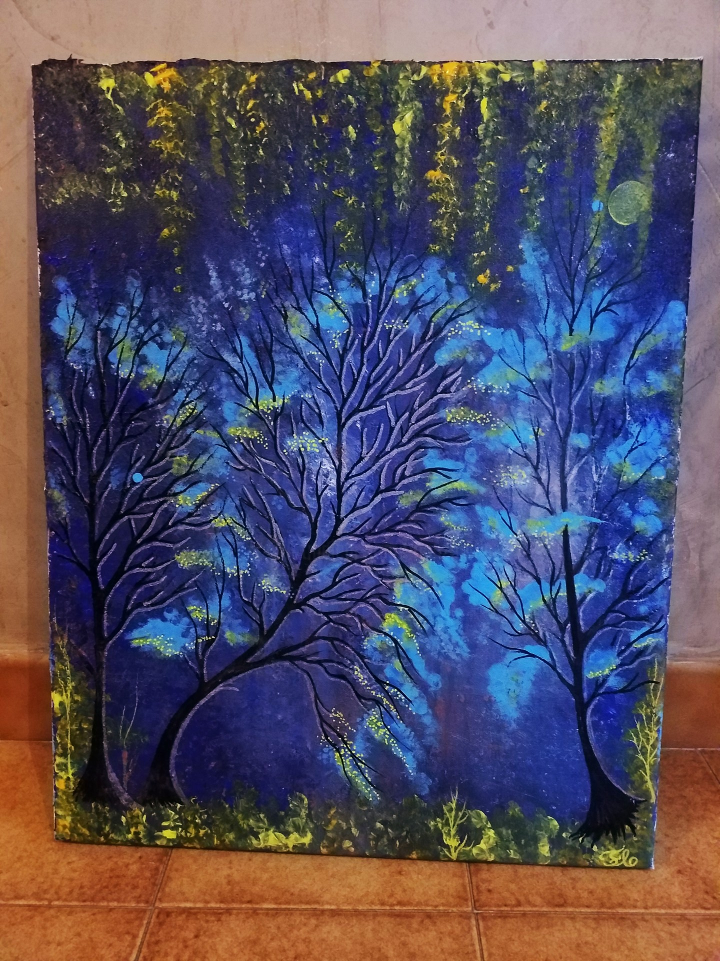 Florence Castelli  flofloyd - La forêt en ébullition