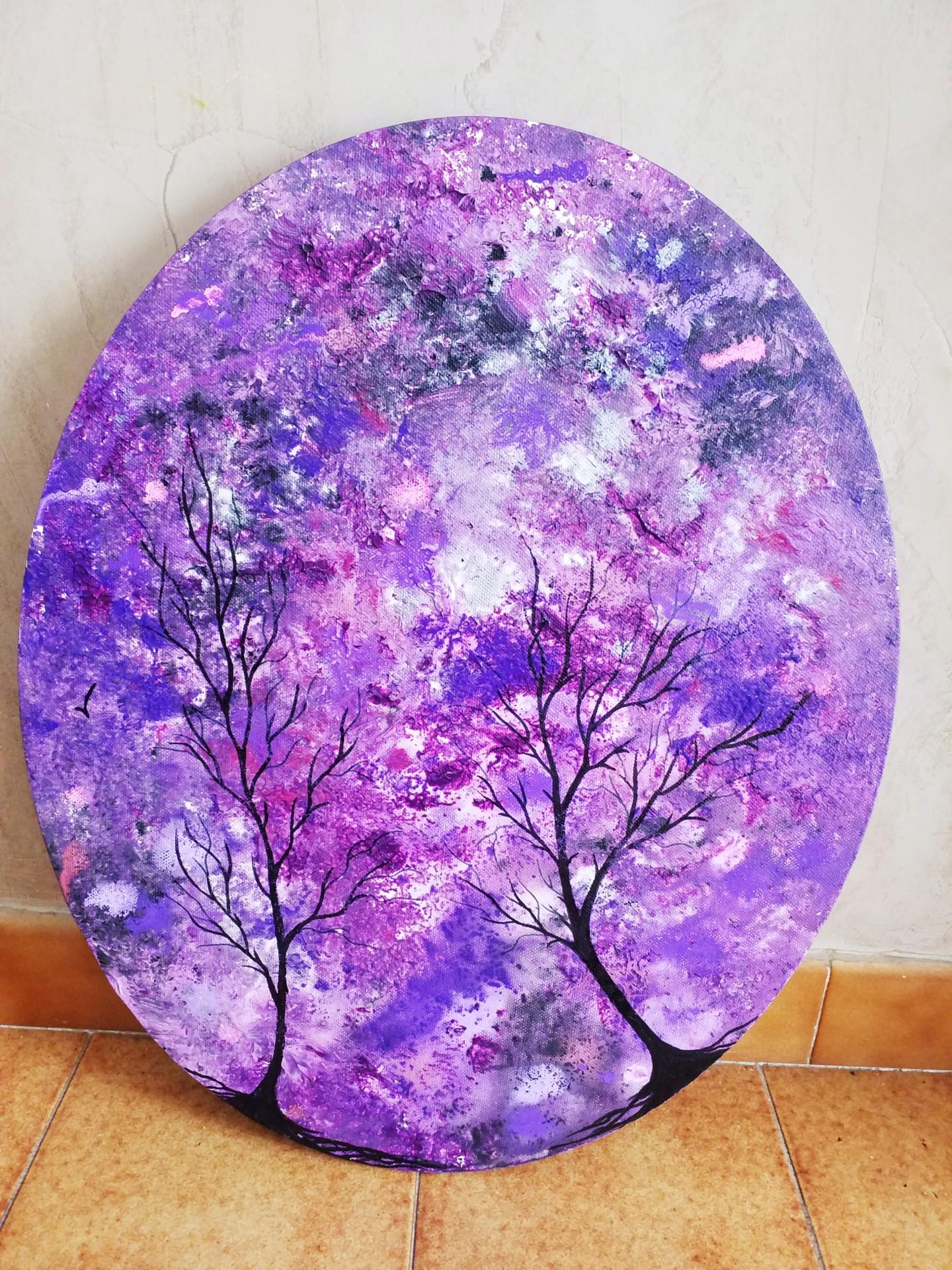 Florence Castelli  Flofloyd - Mes deux arbres