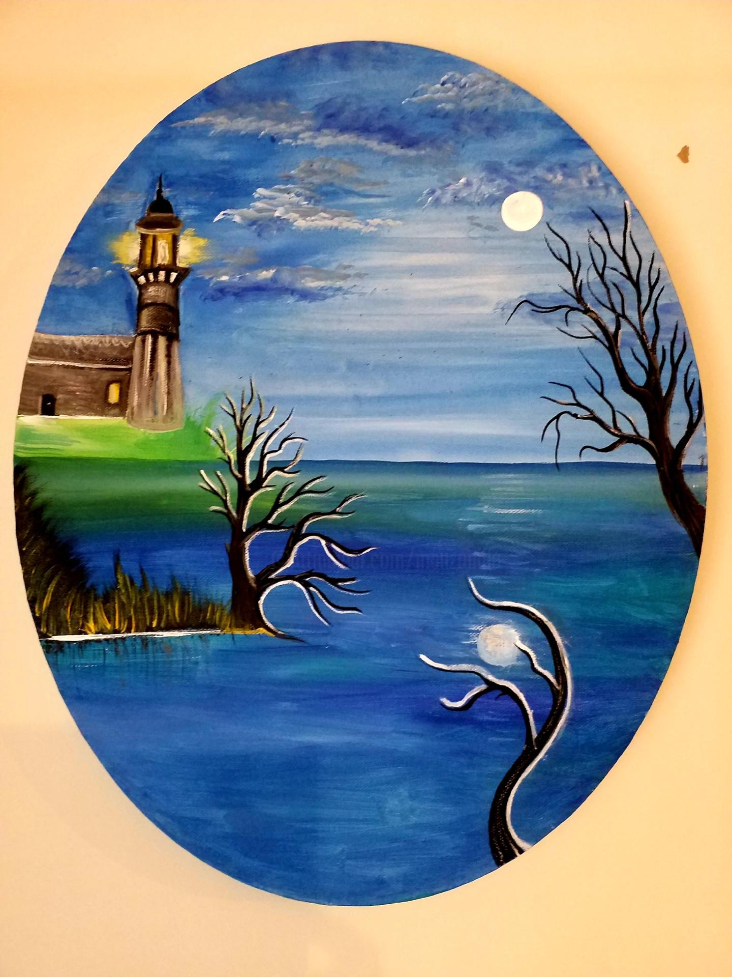 Florence Castelli  Flofloyd - Le phare