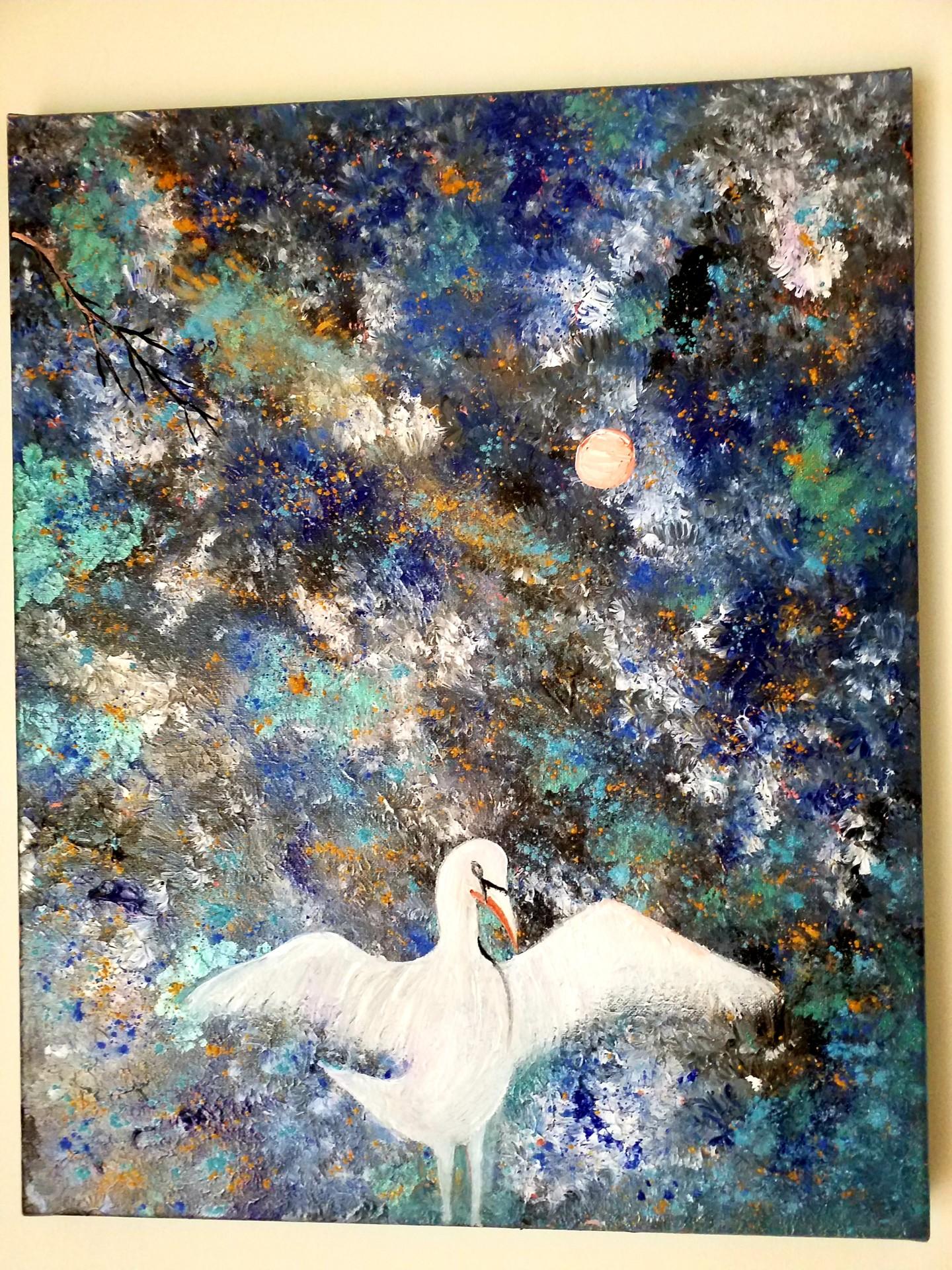 Florence Castelli  Flofloyd - Le cygne