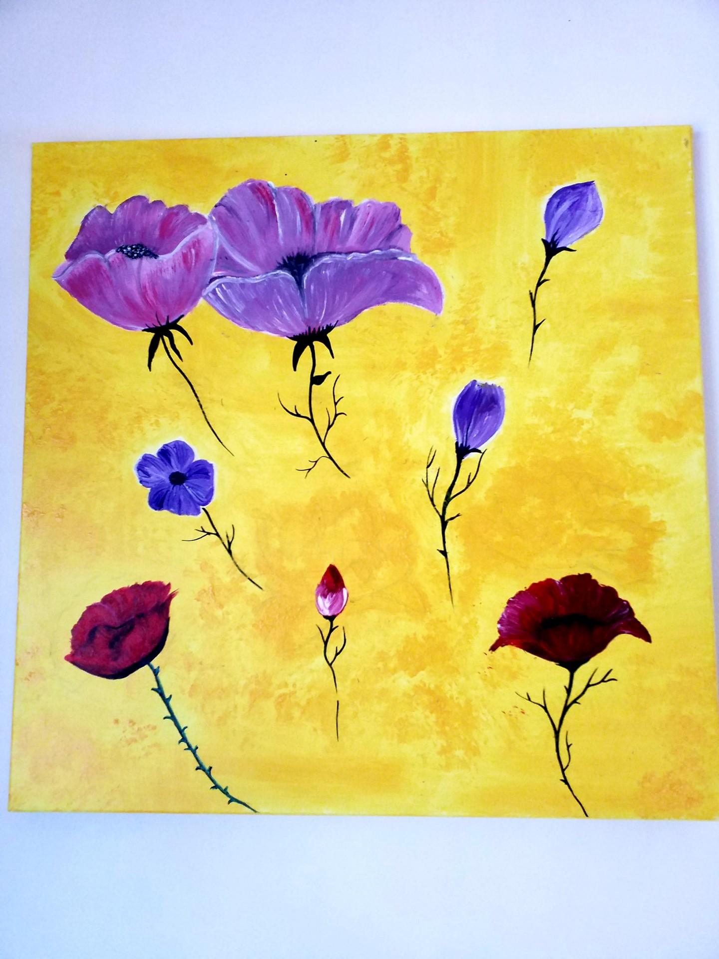 Florence Castelli  Flofloyd - Promenade dans les fleurs