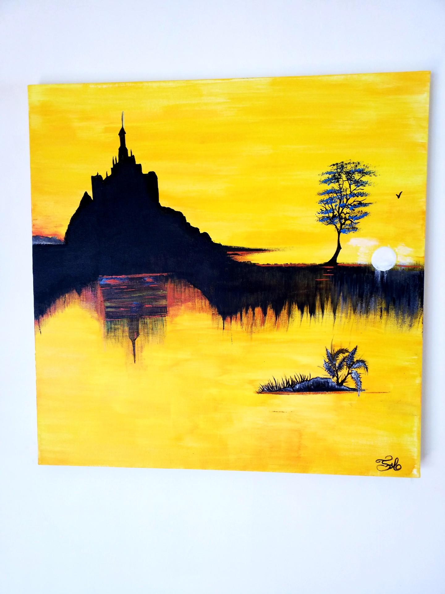 Florence Castelli  Flofloyd - Le Mont Saint Michel