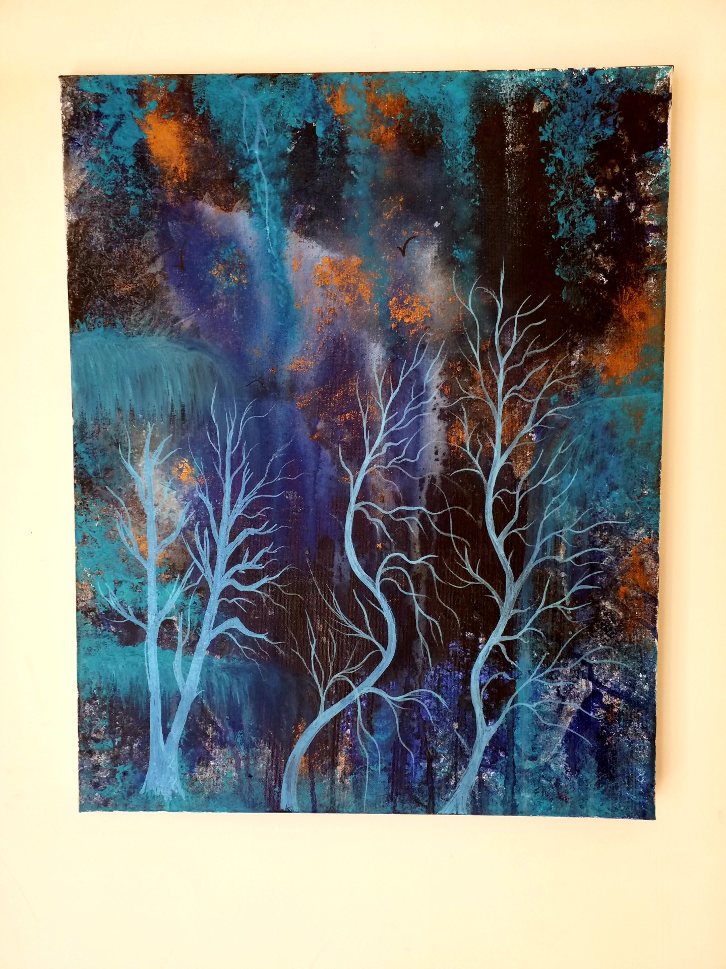Florence Castelli  Flofloyd - Ma forêt bleue