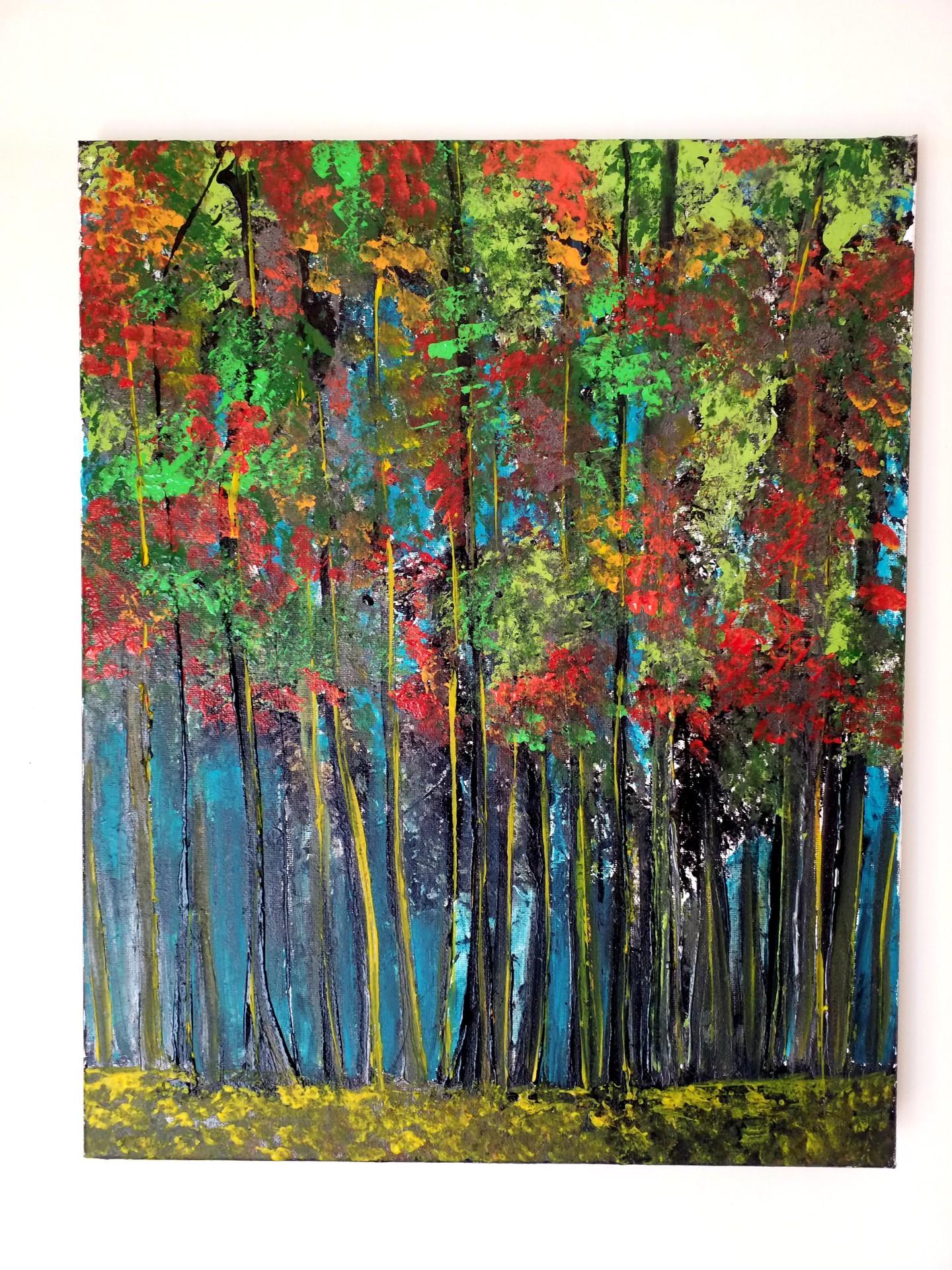 Florence Castelli  Flofloyd - Ma forêt automnale