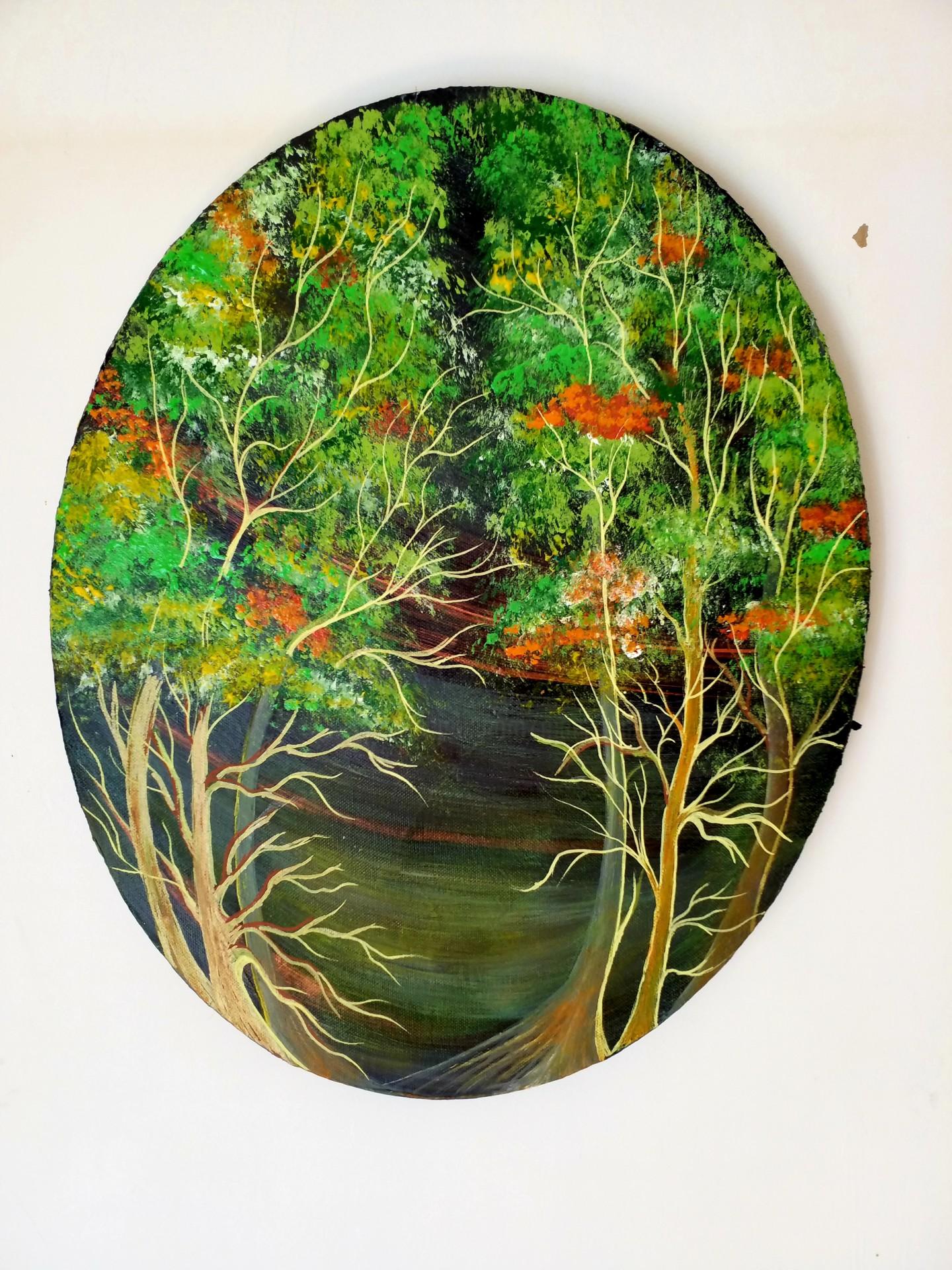 Florence Castelli  Flofloyd - La forêt en été