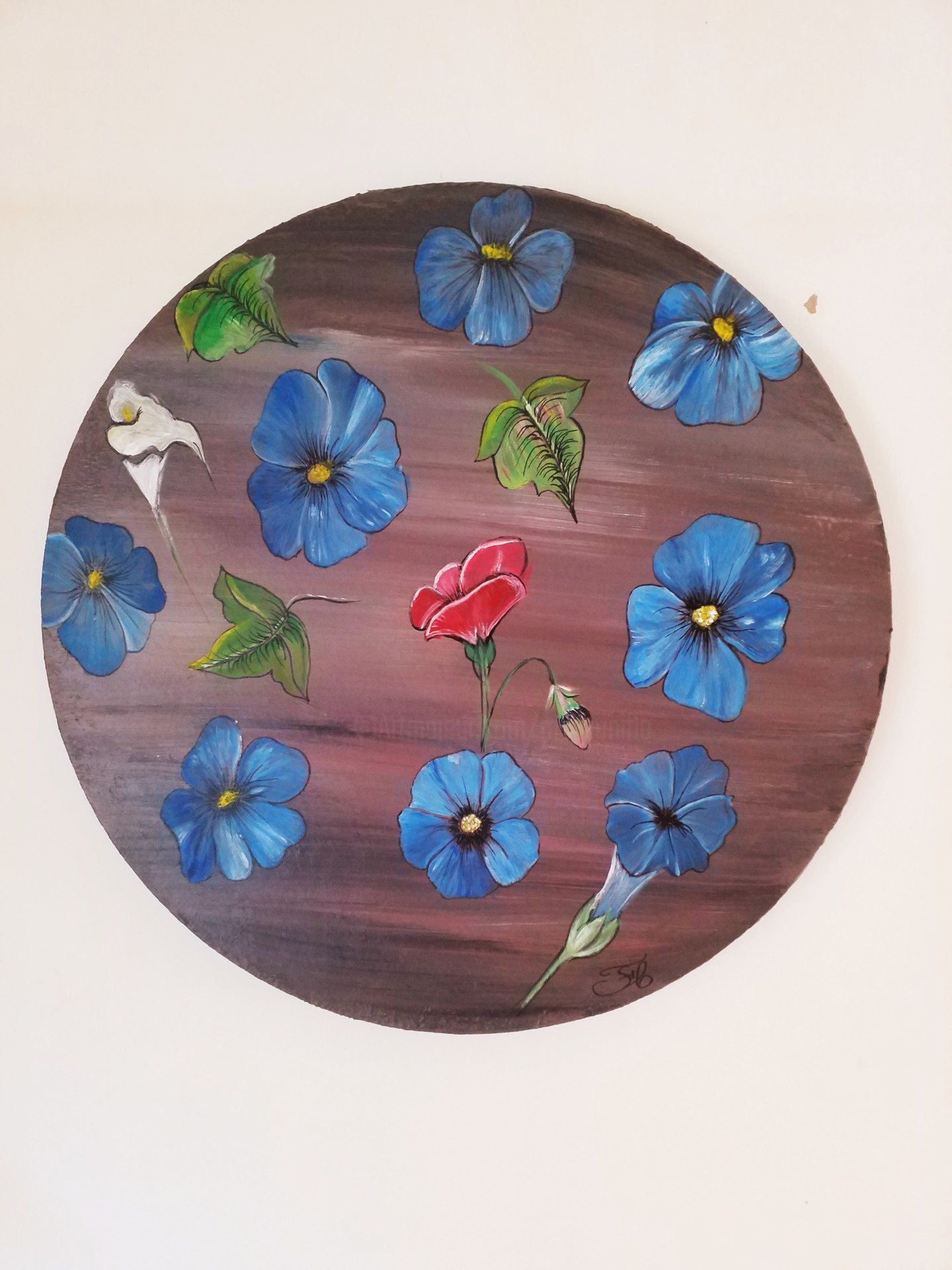 Florence Castelli  Flofloyd - Un rêve de fleurs