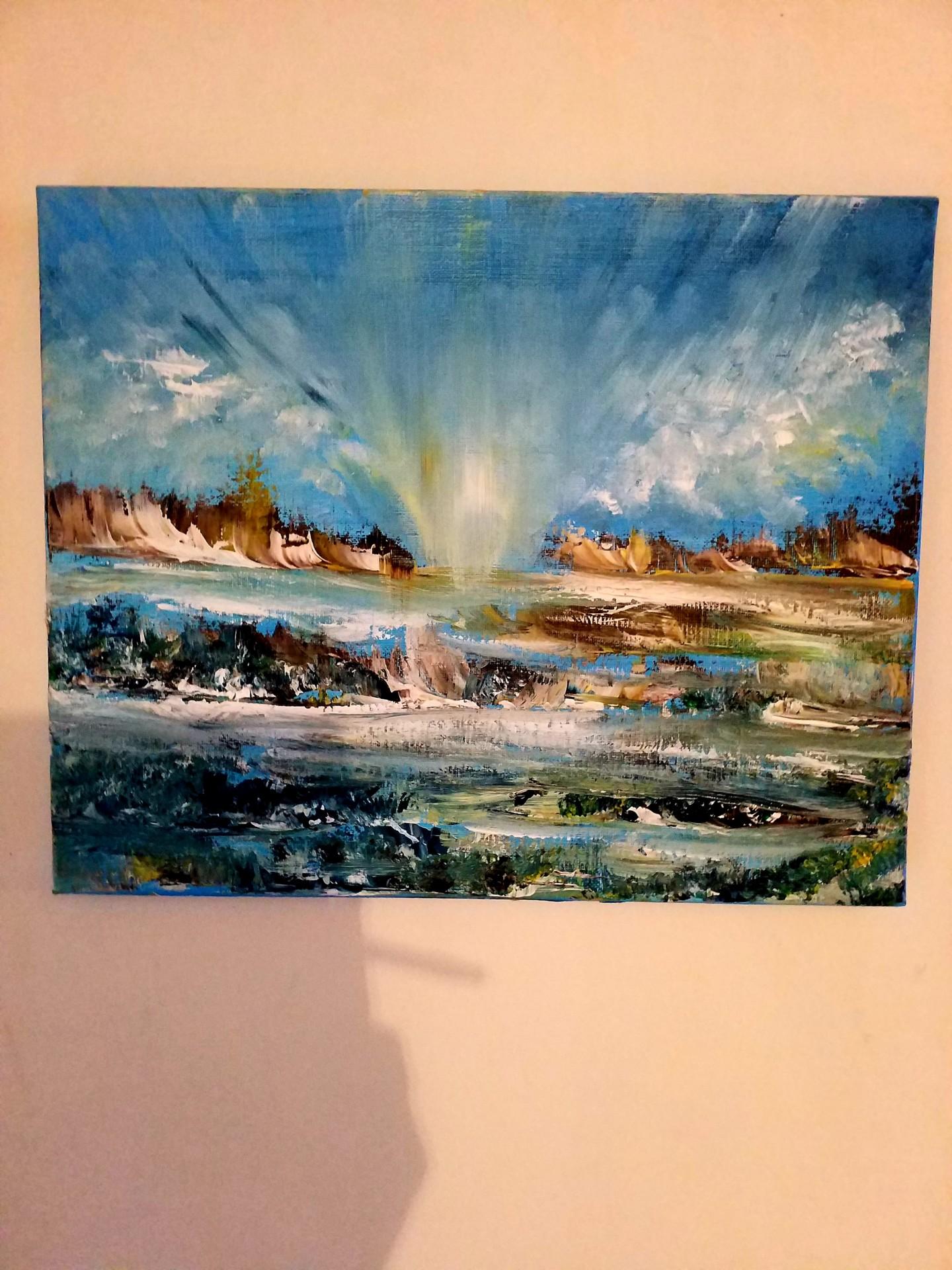Florence Castelli  Flofloyd - Paysage maritime 1