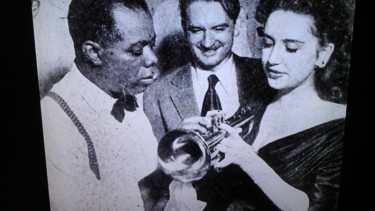 Photo de musiciens en noir et blanc