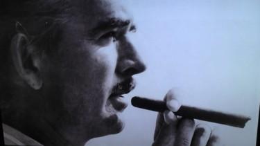 Photo de Mr Barclay en noir et blanc