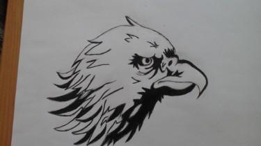 Dessin tête d aigle
