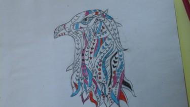 Dessin de tête d aigle 1