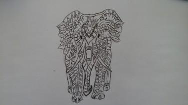 Dessin d éléphant