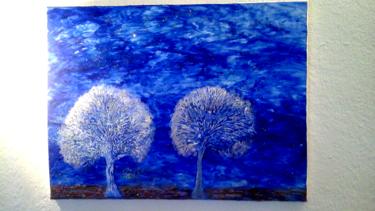 Des arbres sous la neige