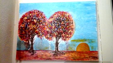Tableau d arbres en couleurs