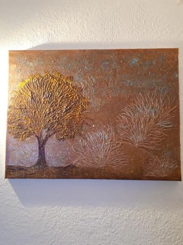 Tableau d arbre à l acrylique