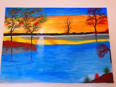 Tableau de paysage en couleurs