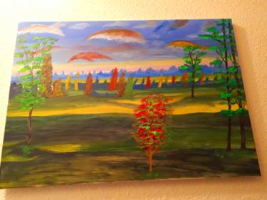 Un paysage à ma version