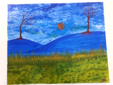 Tableau de paysage à ma façon