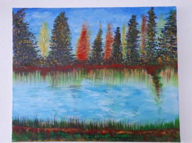 Un tableau de paysage