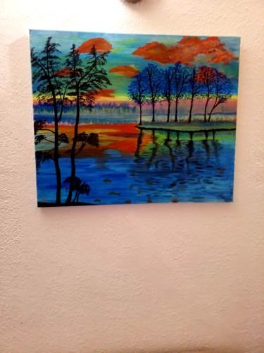 Tableau de paysage à ma version