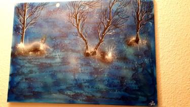 Des arbres au bord de la mer