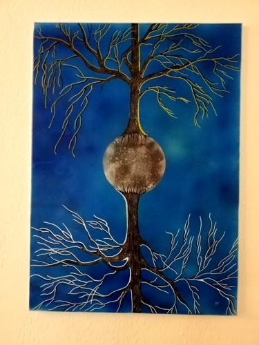 Des arbres sur la lune