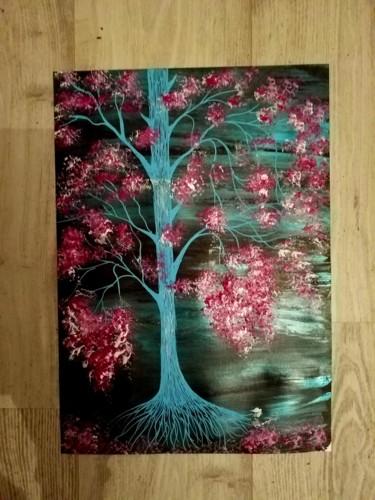 L arbre sur papier A3